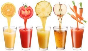 Acne and pimples - Juices