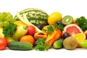 Fruits and vegetables in the fight against acne and pimples