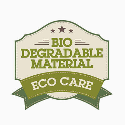 ECO CARE: Bio degradable material