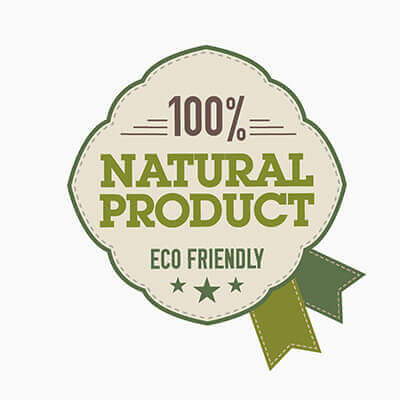 ECO FRIENDLY: 100% natural products