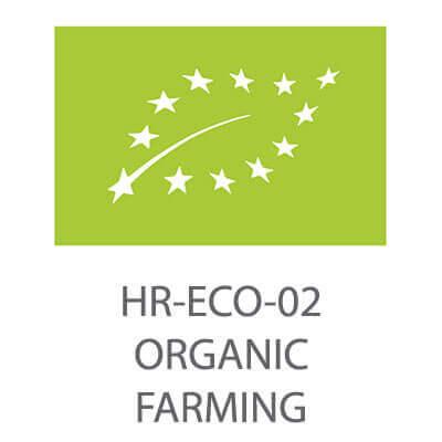 ll eco certificato Croato per i produttori biologici