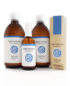 Salvia Sage Hydrosol 2x (500ml + 100ml)