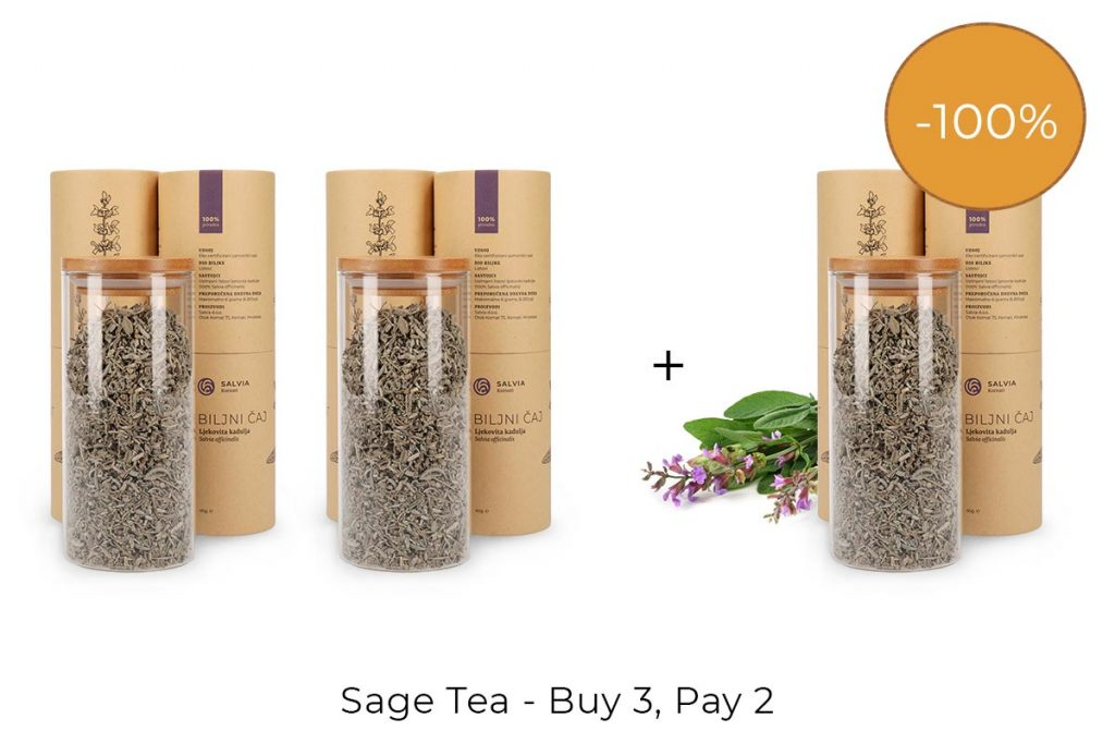 Discount: Sage Tea - Buy 3, Pay 2