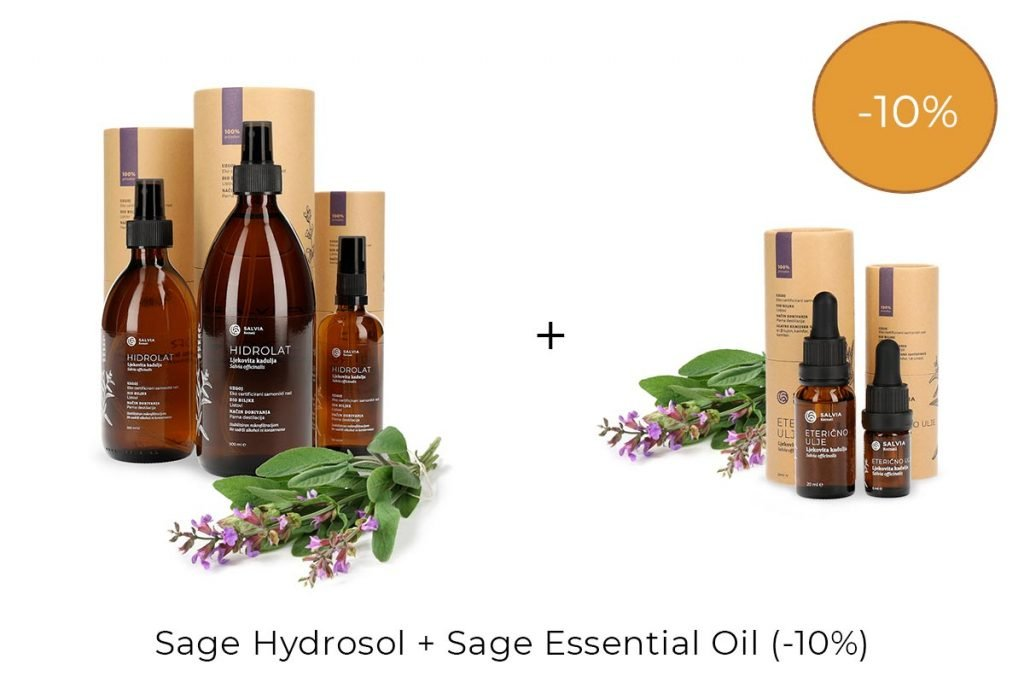 Salvia Discounts - Hydrosol & Essential oil