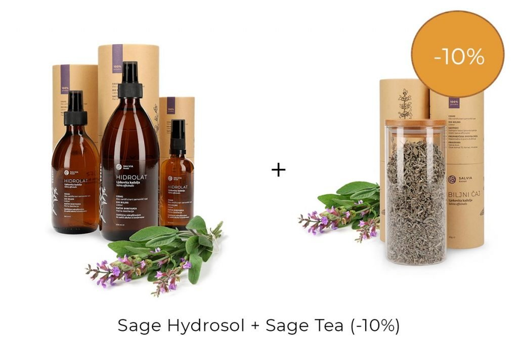 Salvia Discounts - Hydrosol & Tea